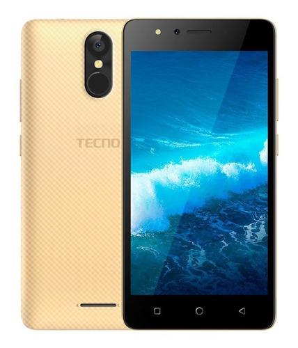 celular libre tecno smartphone wx3f  4g lte huella
