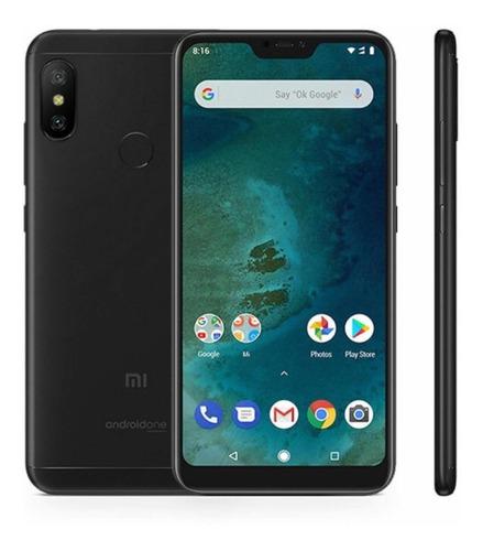 celular libre xiaomi a2 lite 64gb duos ram 4g 12+5mp+estuche
