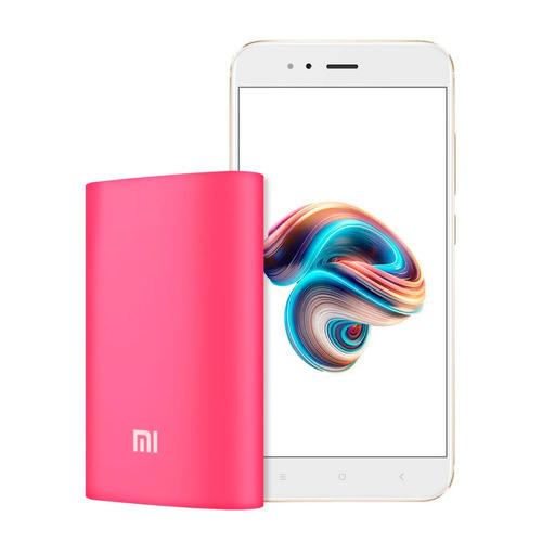 celular libre xiaomi mi a1 dorado 4gb/32gb + powerbank 10000