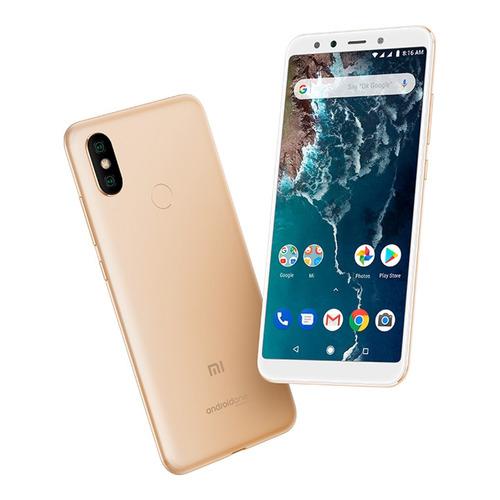 celular libre xiaomi mi a2 dorado 4gb/ 32gb