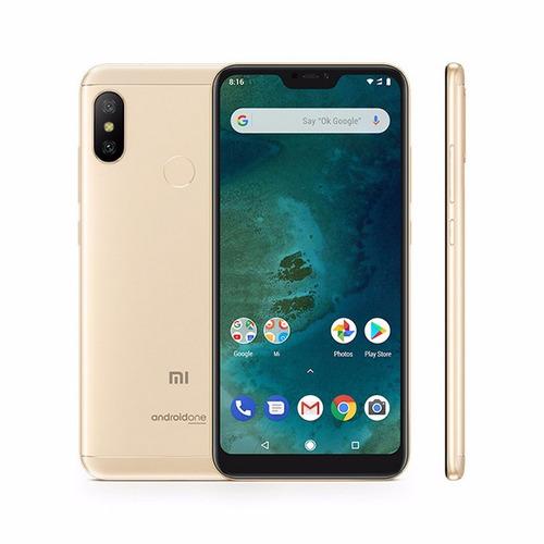 celular libre xiaomi mi a2 lite 4gb de ram android one 64gb