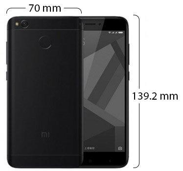 celular libre xiaomi redmi 4x 5 32gb 13mp/5mp negro dorado