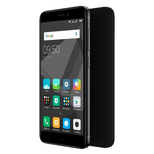 celular libre xiaomi redmi 4x negro + power bank 5000 mah