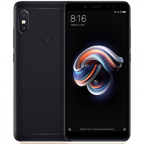 celular libre xiaomi redmi note 5 /64gb/12mp/ 4 ram + forro