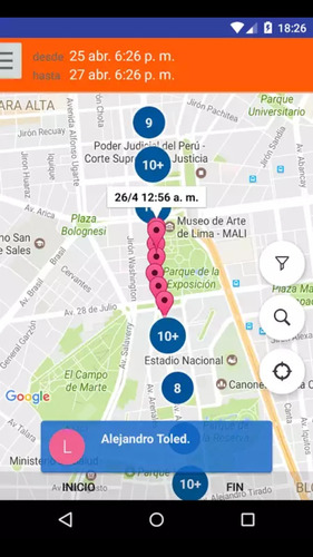 celular localizar monitorear vehiculos o personas autos