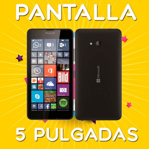 celular lumia 640