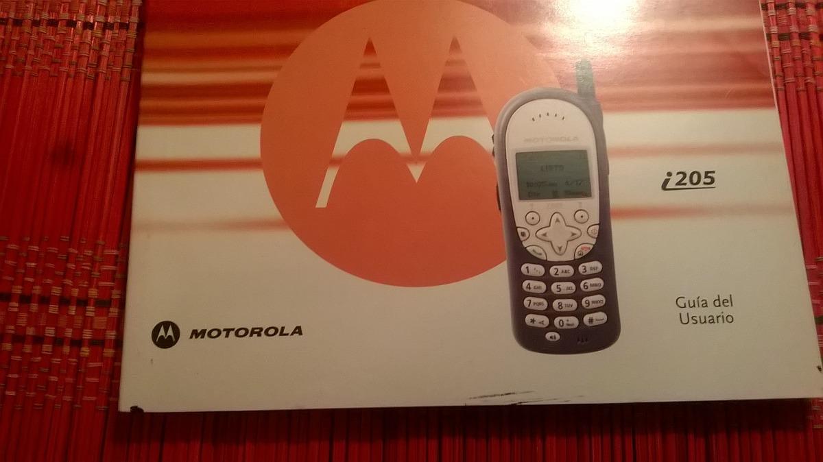 celular manual motorola i205 nextel 35 00 en mercado libre rh articulo mercadolibre com ar AT&T Motorola Phone 2003 Motorola I776