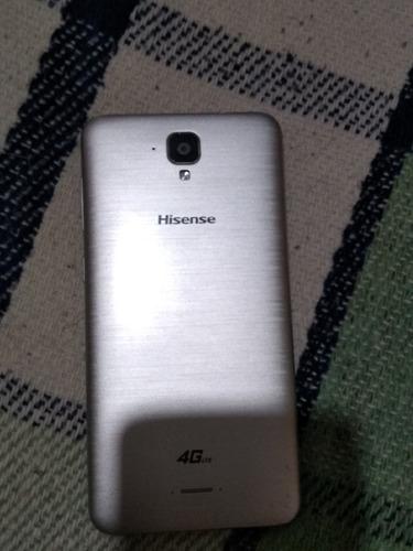 celular marca hisense, modelo l675 pro, color plata