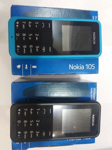 celular marca nokia modelo 105, sellado, para 2 chips, tiend