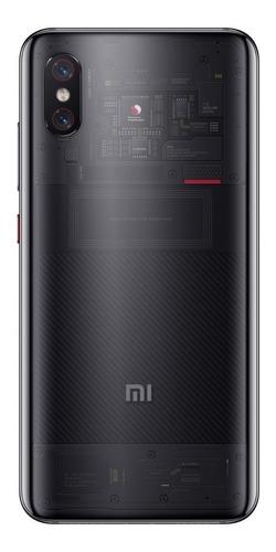 celular mi 8 pro transparente 8gb/128gb global dual titanium