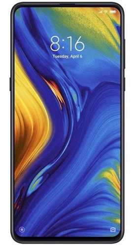 celular mi mix 3 6gb / 128gb onyx black pronta entrega novo