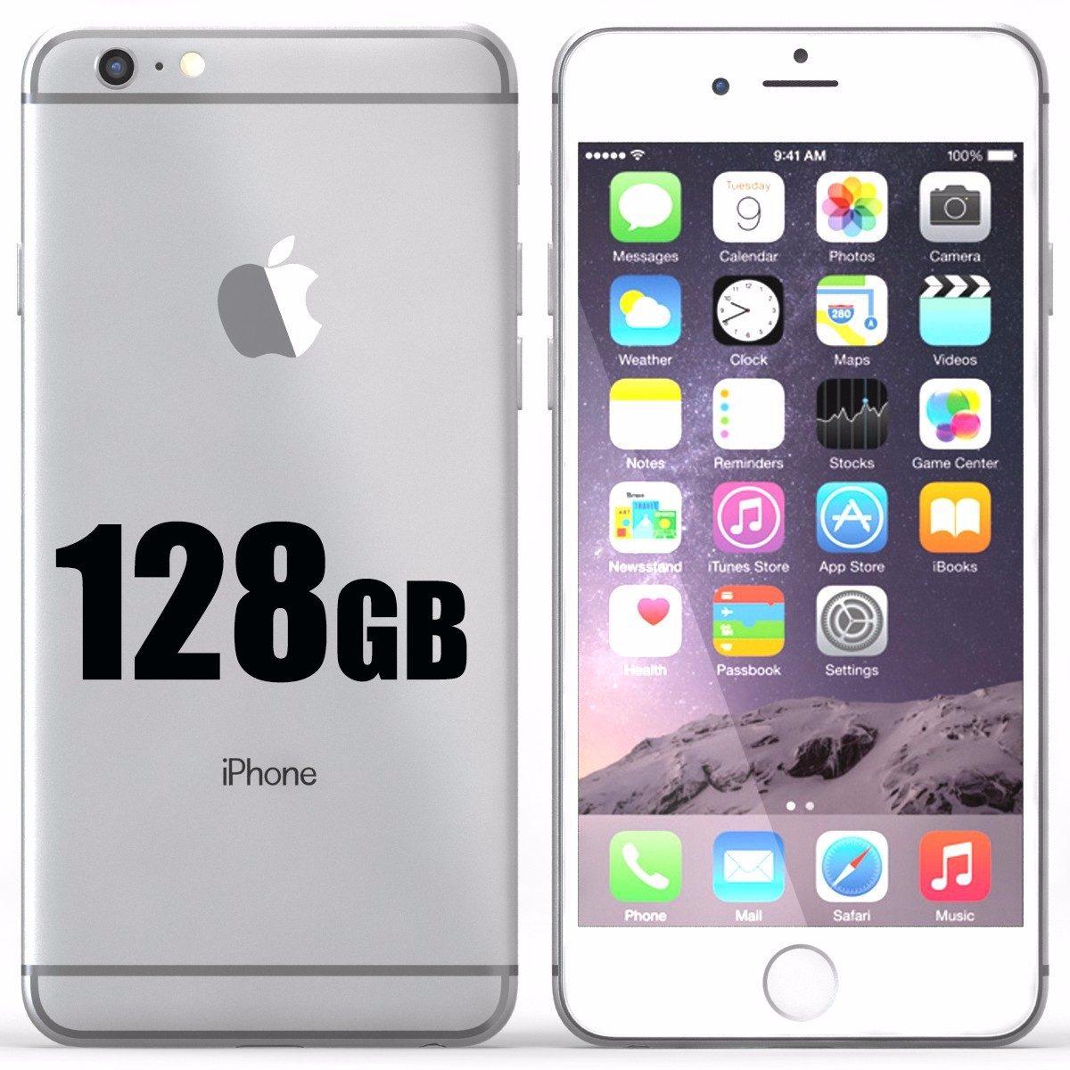 celular mobil apple iphone 6 128gb local a la calle