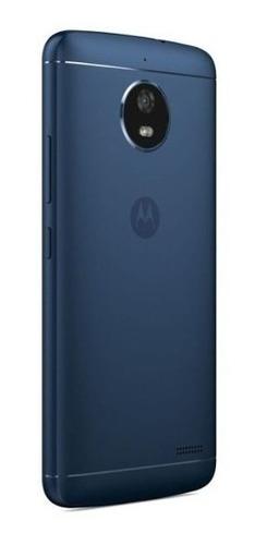 celular moto e4 16gb 4g 8mpx xt1763 azul+nf