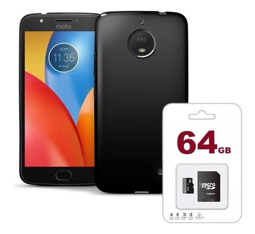 celular moto e4 16gb ram 2gb quad core android 7 + micro sd
