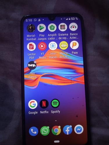 celular moto e6 plus 4gb+64gb edición especial   arándano