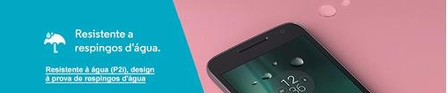 celular moto g4 play dtv dual chip xt1603 16gb 4g-de vitrine