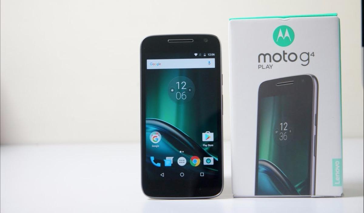 Celular Moto G4 Play Preto 16gb 5'', Dual Sim 4g + Frete