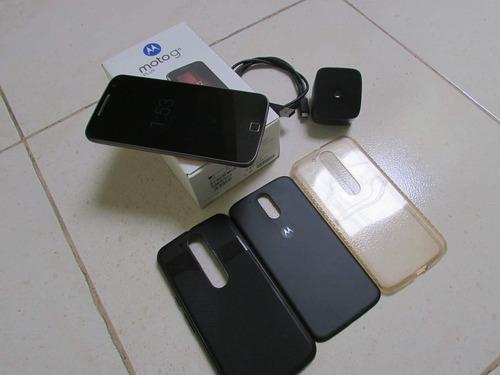 celular moto g4 plus como nuevo