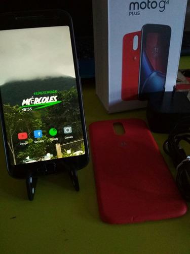 celular moto g4 plus con lentes realidad virtual