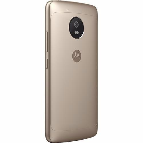 celular moto g5 android 7.0 tela 5 32gb ouro + chip tim