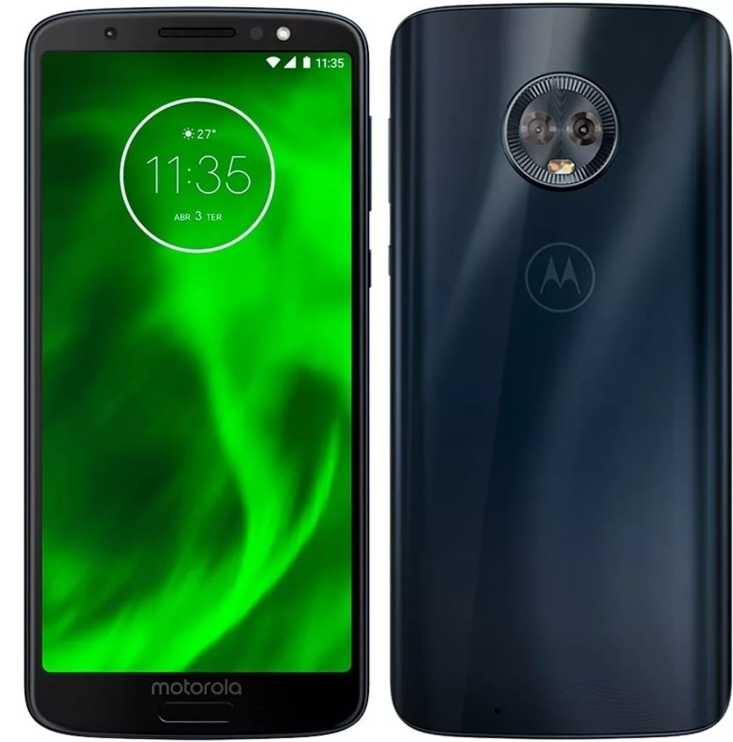 cdd894180 Celular Moto G6 Play Indigo Motorola Tela 5