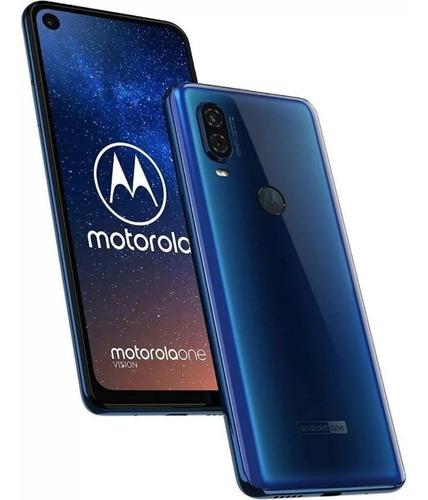 celular moto one vision 4gb 128gb 48mpx  cuotas s/interes !!