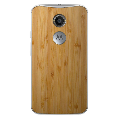 celular moto x 2ª geracao branco/ bambu webfones
