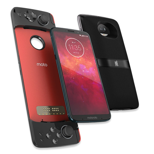 celular moto z3 play 6gb 128gb+ motomods jbl y gamepad