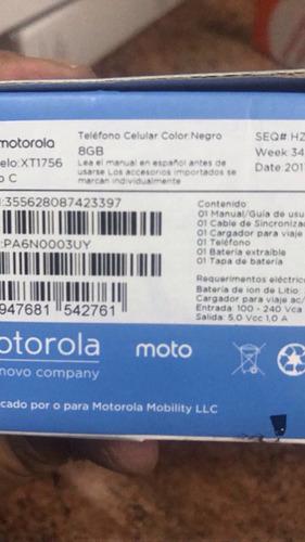 celular motorola c 8gb 4gb ultima version 2017 carga plus