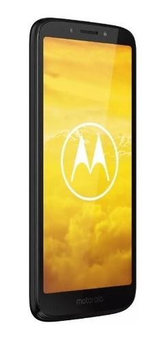 celular motorola e5 play android go edition 16 gb negro