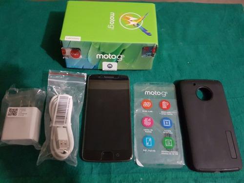 celular motorola g5 con caja y accesorios estado 10 de 10