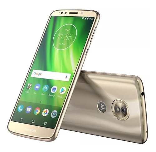 celular motorola g6 play 32gb simcard claro 4g dorado