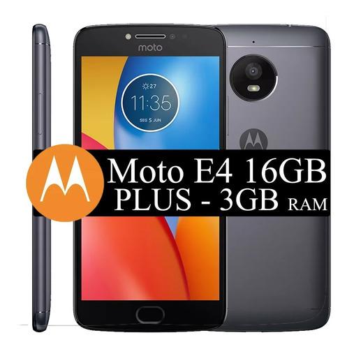 celular motorola moto e4 plus biometria tela 5.5 16g - 4glte