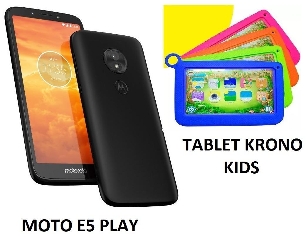 a7d5250a03e celular motorola moto e5 play + tablet krono kids 7 android. Cargando zoom.
