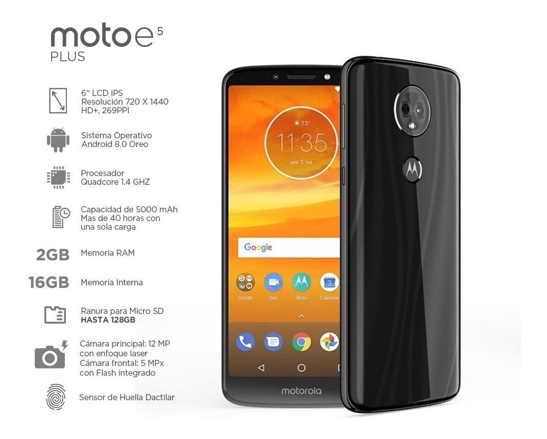 Celular Motorola Moto E5 Plus 1924-5 2gb Ram 16gb Huella ...