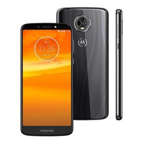 Celular Motorola Moto E5 Plus 32gb Preto Bateria Duradoura