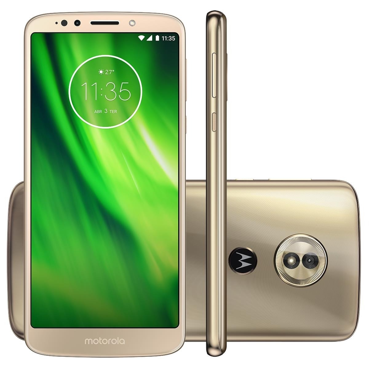 3b9acf653 celular motorola moto g6 play 32gb 4g android 8.0 + nf. Carregando zoom.