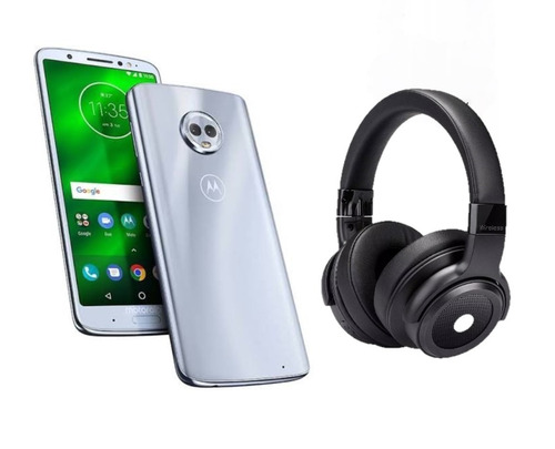 celular motorola moto g6 plus 4gb 64gb+ audífonos escape 800
