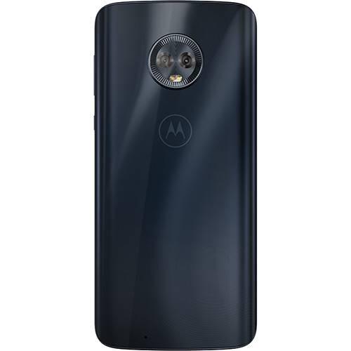 1c1ff7d6a Celular Motorola Moto G6 Plus Indigo 64gb Promoção + Brinde - R ...