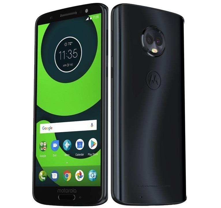 a7d7f7497 Celular Motorola Moto G6 Plus Xt1926-8 4gb 64gb Indigo - R  1.469