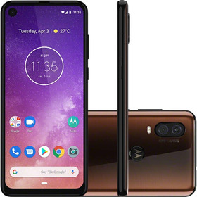 Celular Motorola Moto One Vision Bronze 128gb 48mp+5mp