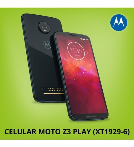 celular motorola moto z3 play 64gb xt-1929 mod power edition
