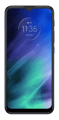 celular motorola one fusion 64gb azul - deep saphire