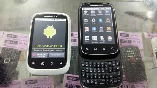 celular motorola spice xt300 android mp3 wifi 3g novo