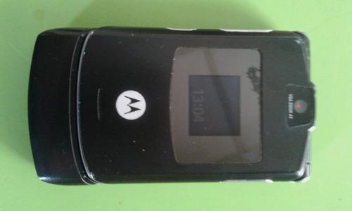 celular motorola v3 cargador y bateria de recambio