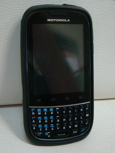celular motorola xt 317 android 2 chips - com defeito