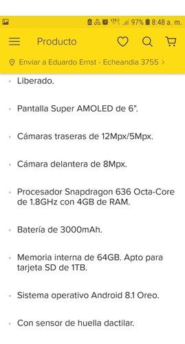 celular motorola z3 play ,nuevo ,liberado ,sin uso