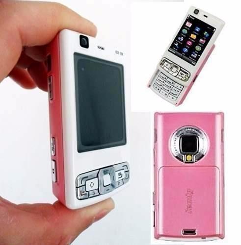 Shake Mini Camera E Fm N95 Mp25 Mp4 Rosa Mp3 Celular