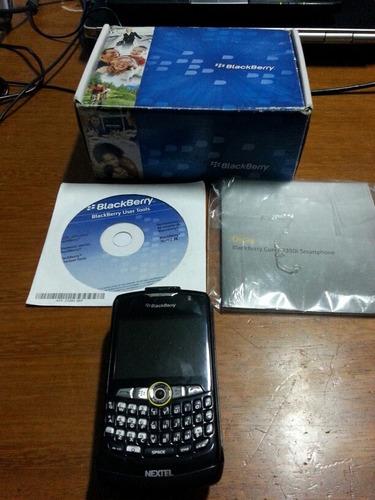 celular na caixa nextel blackberry curve 8350i no estado