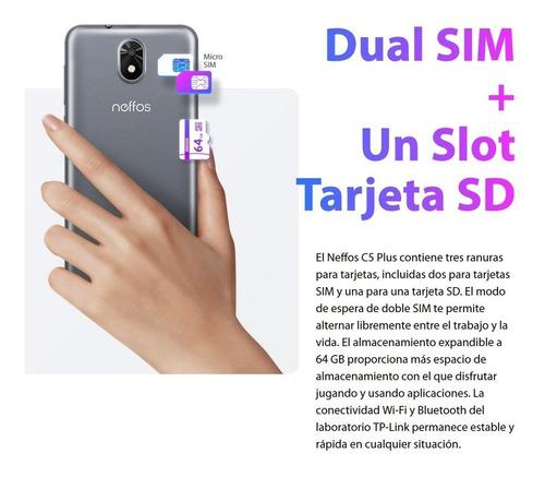 celular neffos c5 plus 5.34'' dual sim, 8gb/512mb, quad-core